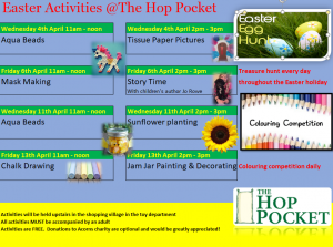 Easter Activities at The Hop Pocket