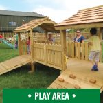 Children's Play Area and Climbing Frames