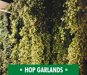 Hop Garlands from The Hop Pocket