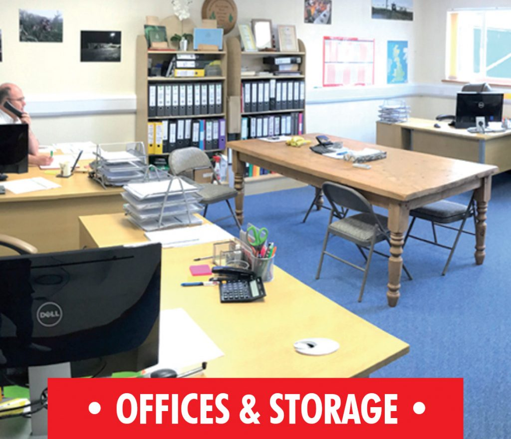 Offices and Storage at Hop Pocket
