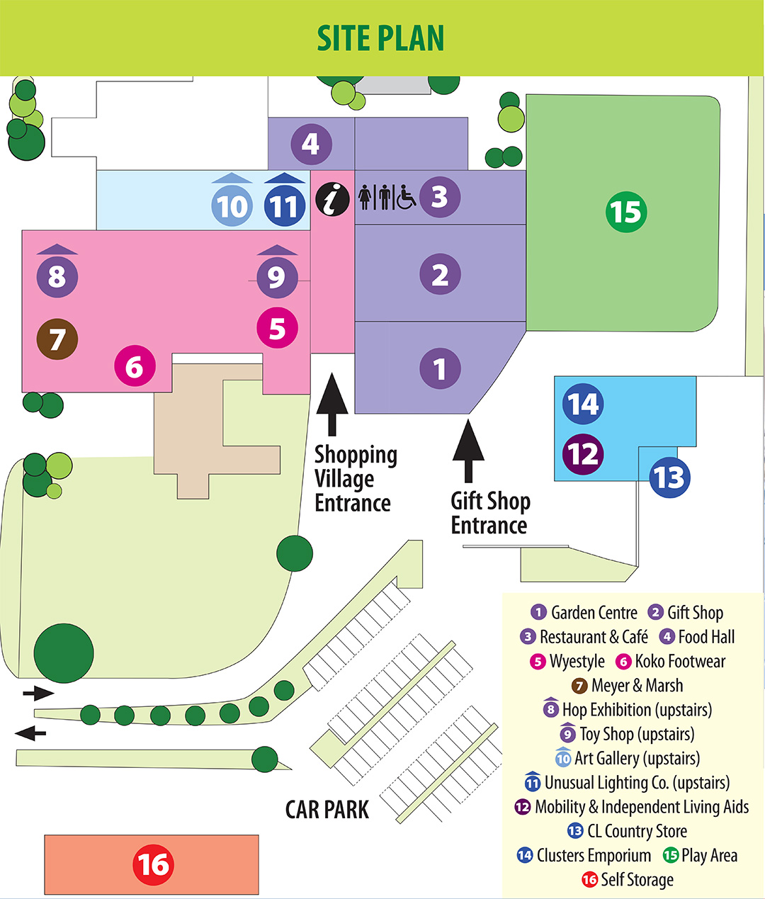 Hop Pocket Shopping Village Site Plan